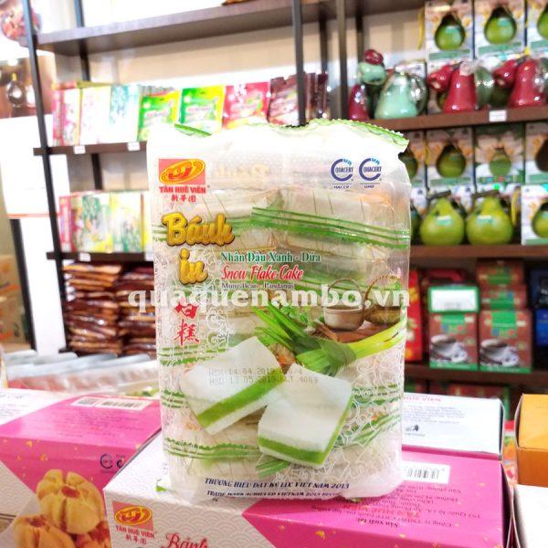Bánh in đậu xanh lá dứa Tân Huê Viên 400g