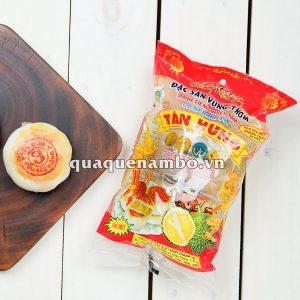Bánh pía Tân Hưng không trứng đâu xanh sầu riêng 480g