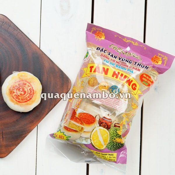 Bánh pía Tân Hưng không trứng môn sầu riêng 480g