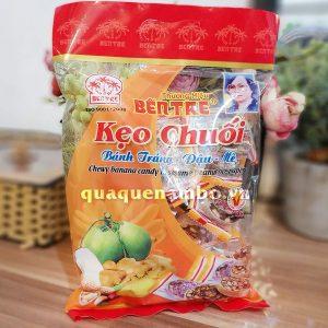 Kẹo chuối cuộn bánh tráng 400g