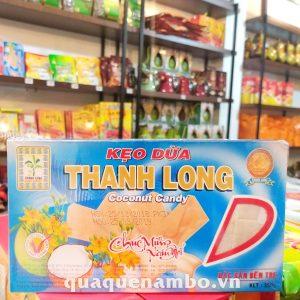 Kẹo dừa không sầu riêng thanh long 300g