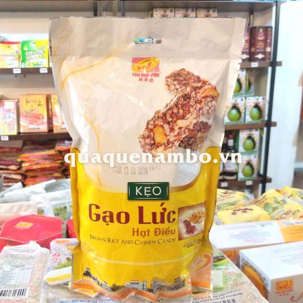 Kẹo gạo lức hạt điều THV 250g