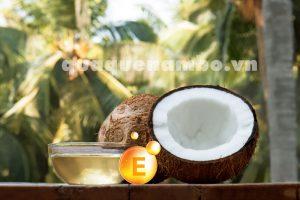 Tác dụng tuyệt vời của vitamin E và dầu dừa là gì?