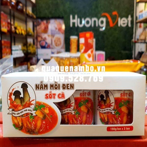 Combo 3 Hộp nấm mối sốt cà Phú Quốc ( ăn chay )