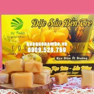 Kẹo dừa Bến Tre sầu riêng Du Thảo 400g